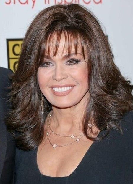 The Controversy Surrounding Marie Osmond Plastic Surgery pertaining to Valerie Bertinelli Hairstyles 2018