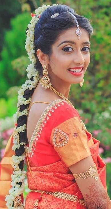 20 Classic Indian Bridal Hairstyles For A Stunning Look with regard to Different Indian Hairstyles For Long Hair