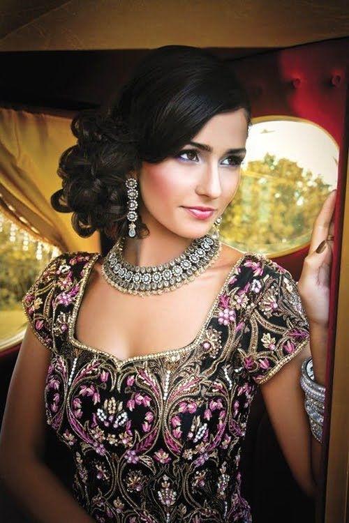 20 Gorgeous Indian Wedding Hairstyle Ideas pertaining to Curls Hairstyle For Indian Wedding