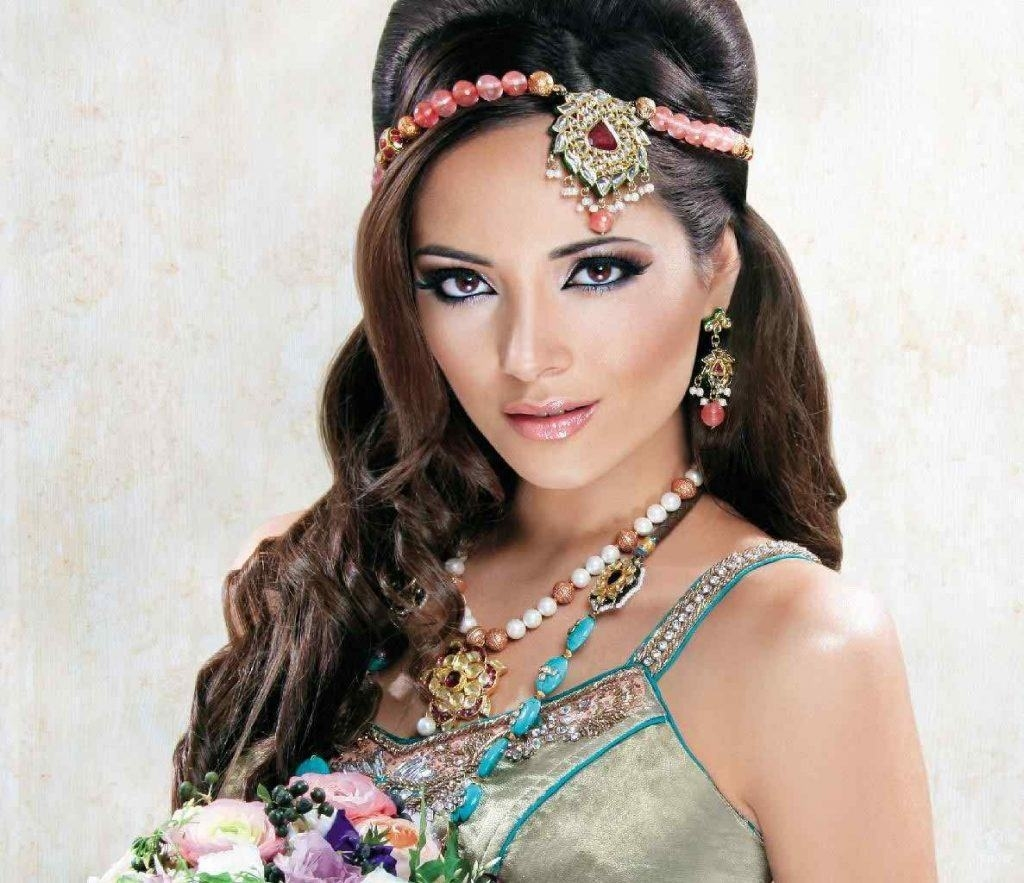 2018 Maang Tikka -18 New Maang Tikka Styles For Face Types with Indian Bridal Hairstyles For Round Face Shapes