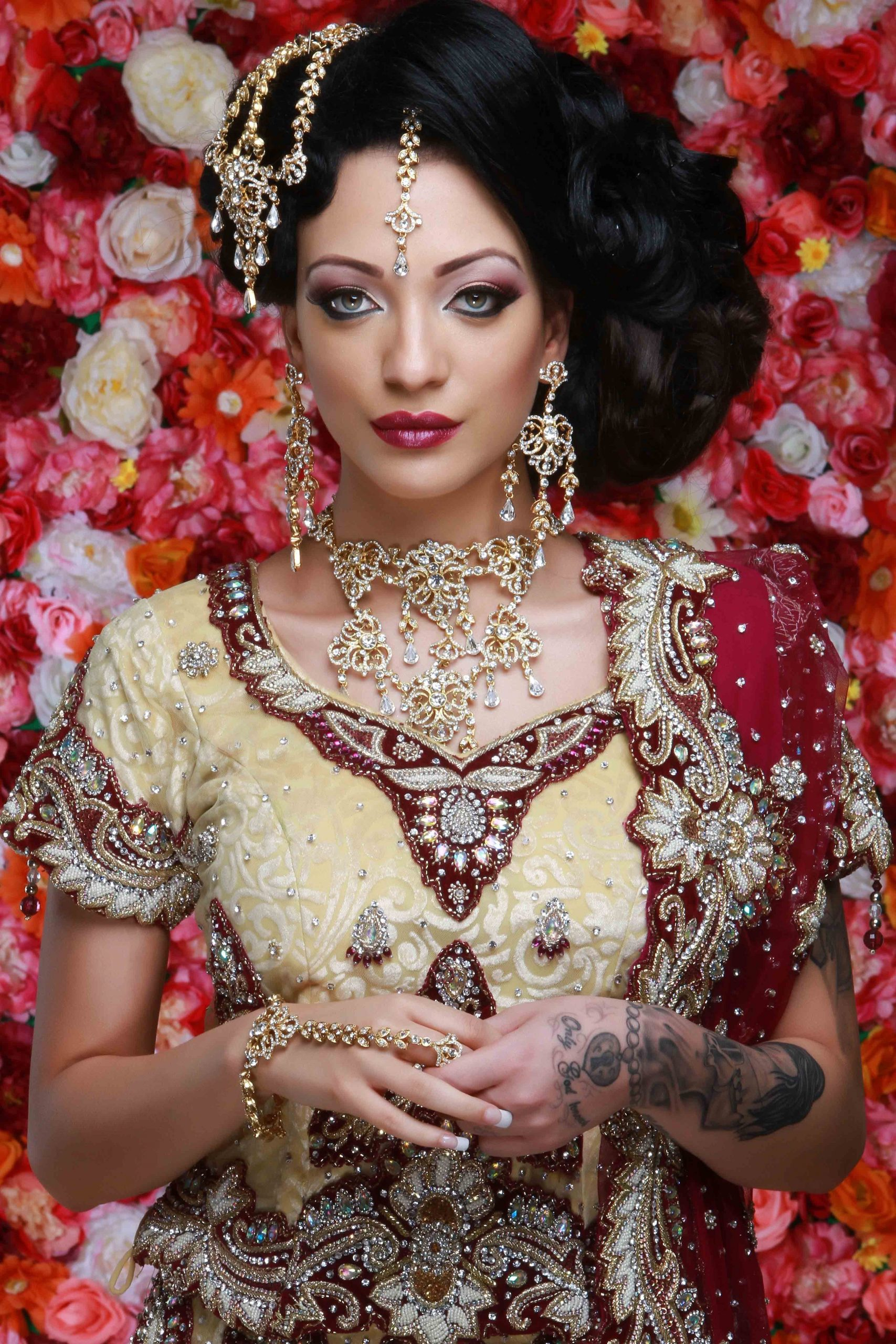 Asian Bridal Makeup Courses In Uk.fully Accredited.now within Indian Hair And Makeup Harrow