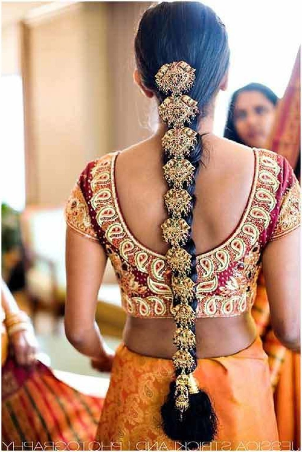 Bridal Hairstyles For Long Hair Indian | Indian Hairstyles intended for South Indian Bridal Hairstyles For Long Hair