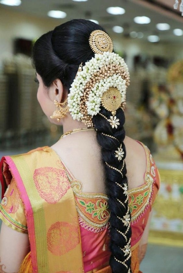 Gorgeous And Retro Indian Wedding Bridal Hairstyle – Page with regard to Different Hairstyle For Indian Wedding Function