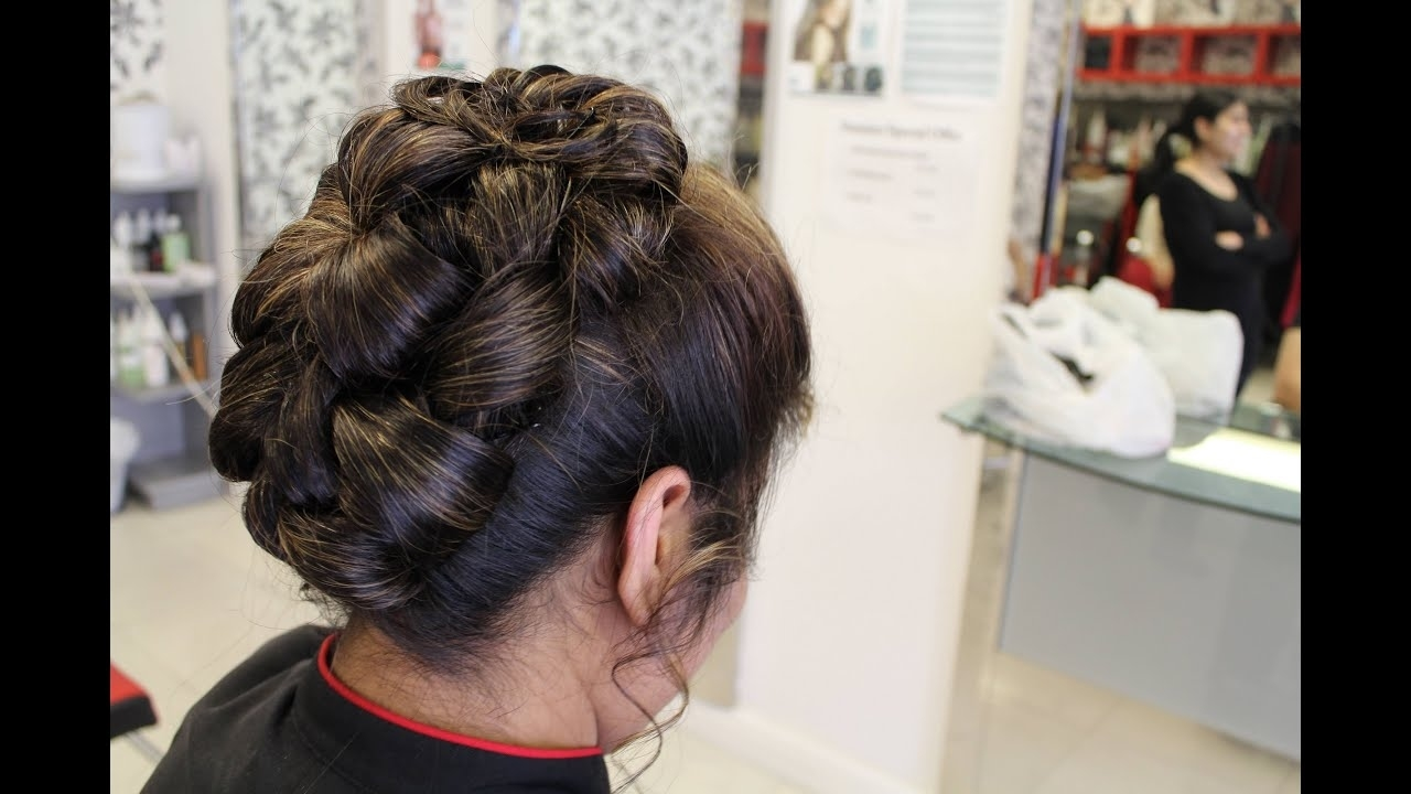 Hairstyles For Long Hair   Indian, Pakistani, Asian in Indian Bun Hairstyle For Short Hair