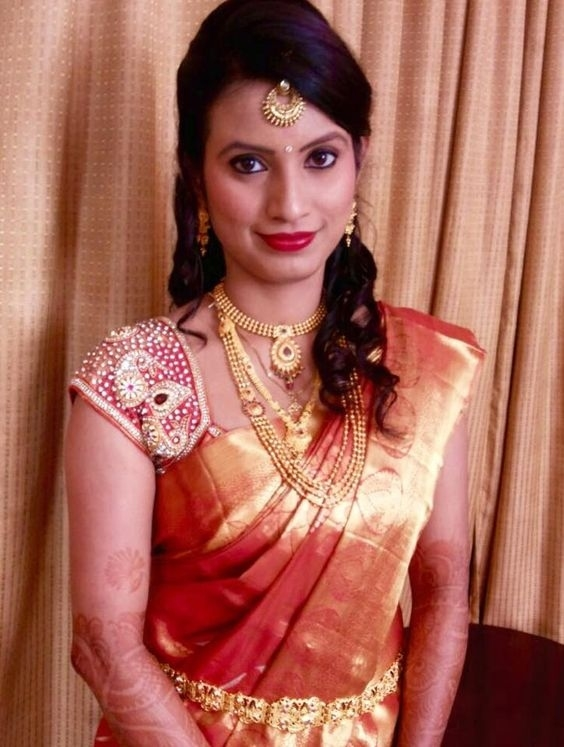 Indian Bridal Hairstyle - Latest Dulhan Hairstyles For Wedding in Indian Updos For Short Hair