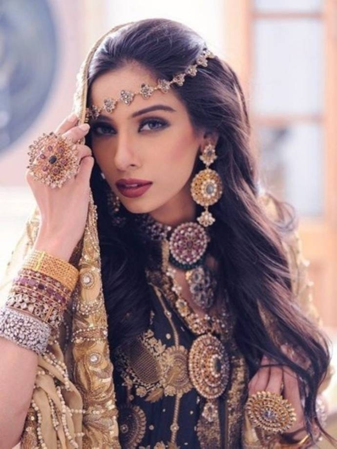 Indian Bridal Hairstyle - Latest Dulhan Hairstyles For Wedding with regard to Hairstyles For Long Hair For Indian Marriage