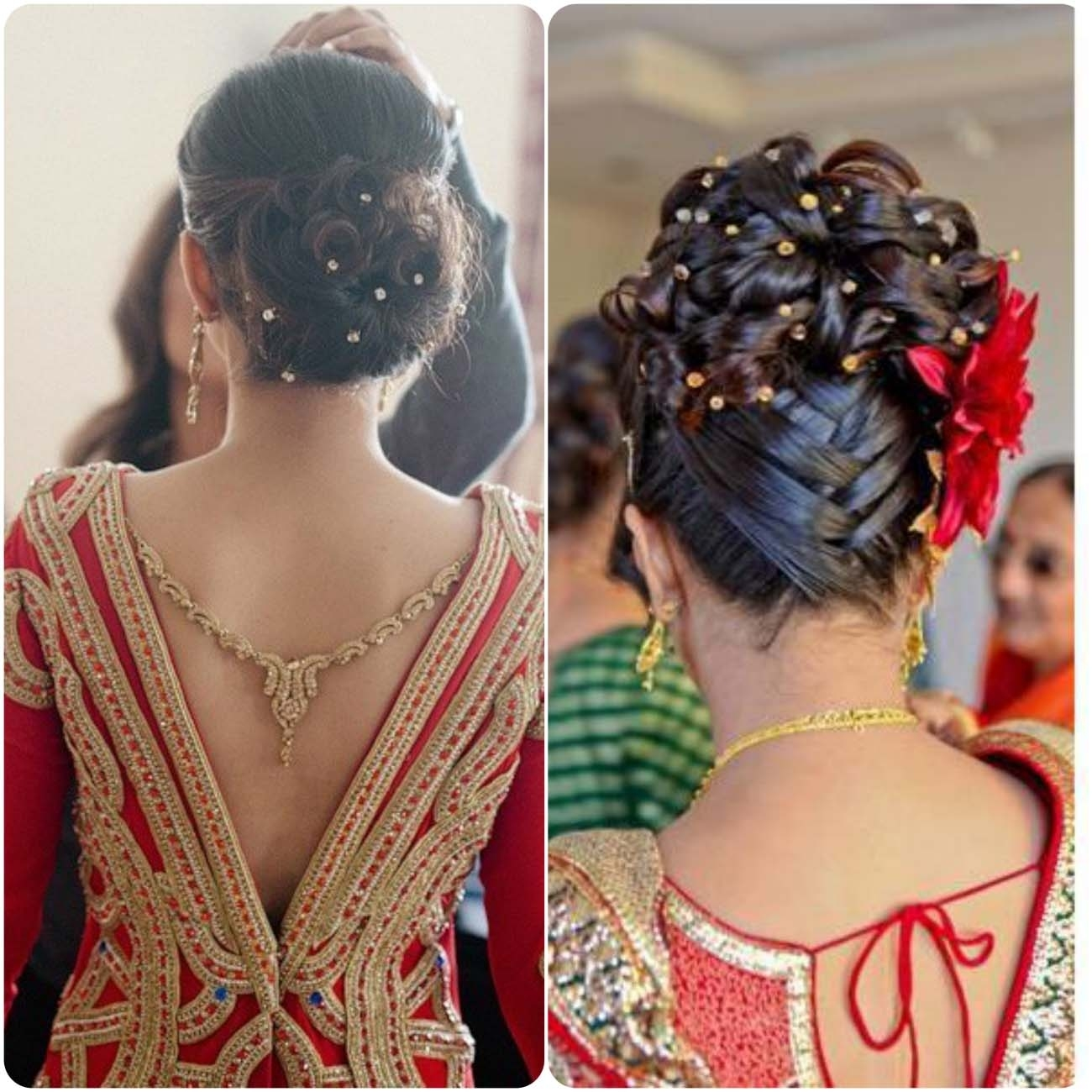 Indian Wedding Hairstyles For Brides 2017-2018 | Stylo Planet pertaining to Easy Indian Hairstyles For Wedding