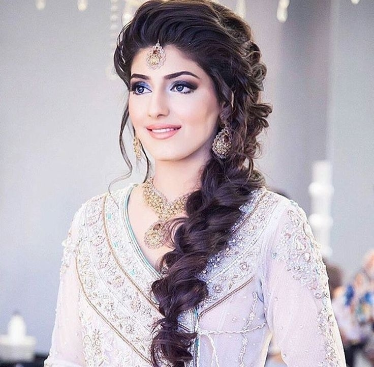 Top 30 Most Beautiful Indian Wedding Bridal Hairstyles For with regard to Simple Indian Hairstyle For Round Face