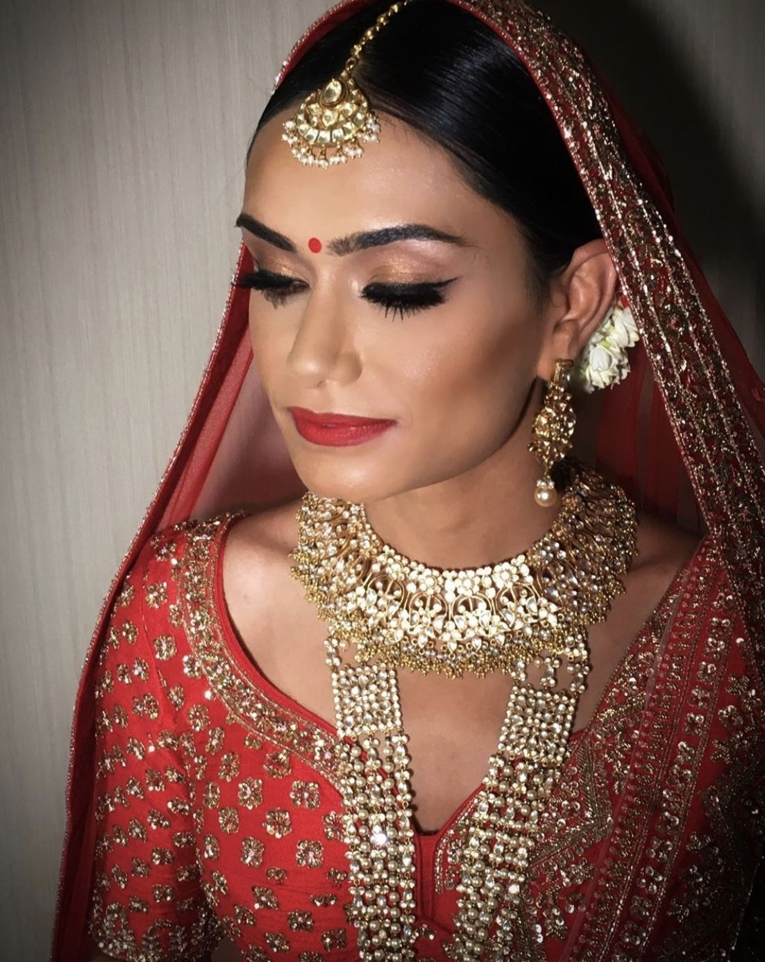 Wear Red To Wed: Roshni - Professional Hair & Make Up regarding Indian Bridal Hair And Makeup Artist